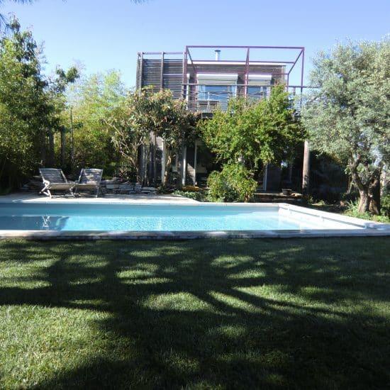 Aménagement extérieur piscine et jardin