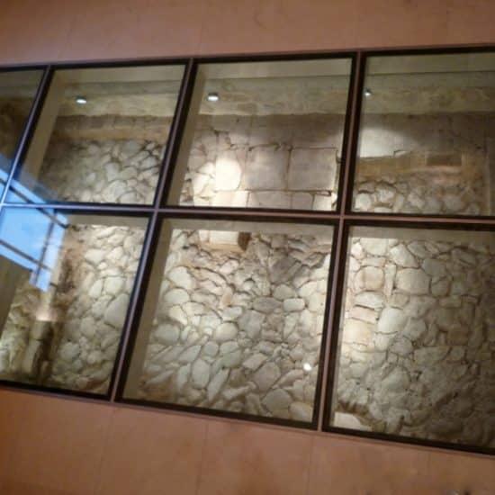Plancher de verre (fouilles romaines)
