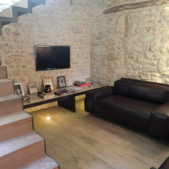 Escalier bois et métal, mobilier sur mesure, décoration et rénovation