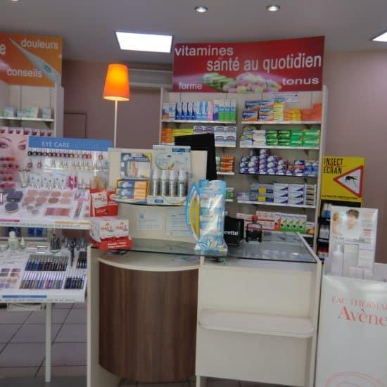Pharmacie banque d'accueil