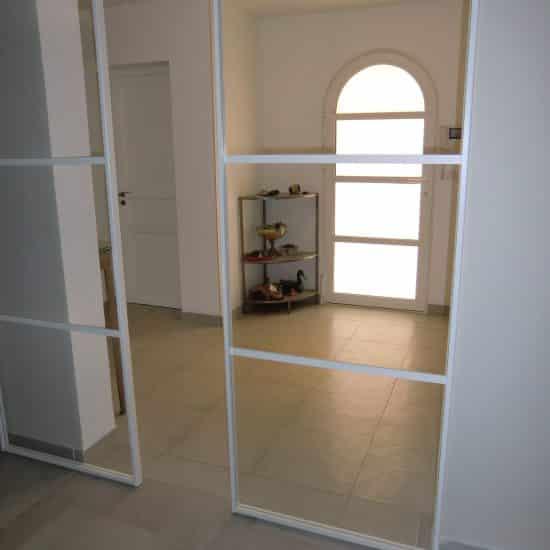 Porte sur mesure: portes coulissantes et porte entrée