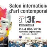 Le Salon d'Art Contemporain art3f 2016 à Montpellier