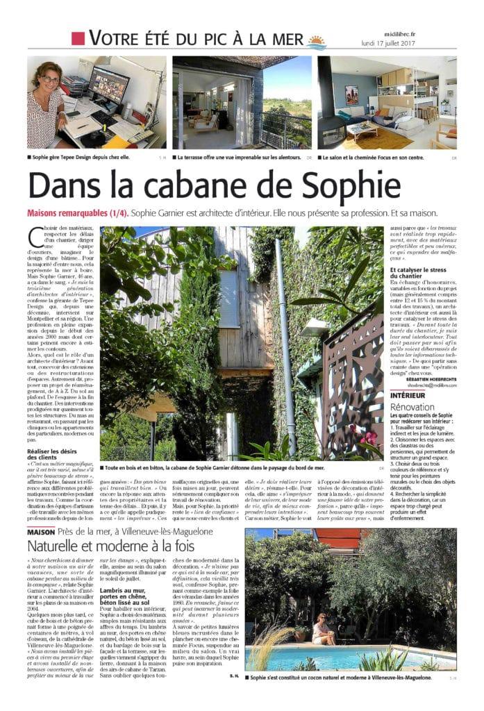 Midi Libre du lundi 17 juillet 2017