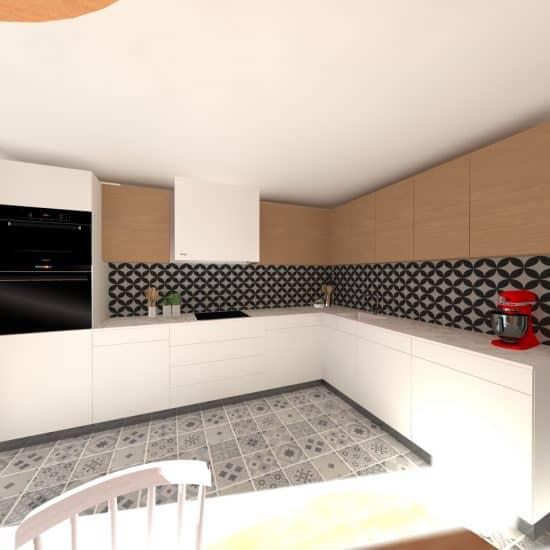 Simulation cuisine en 3D