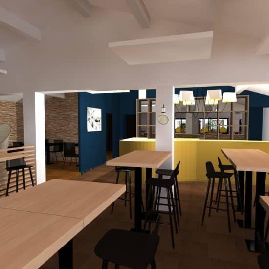 Restaurant Petit Lézard à Palavas-les-Flots (avant-projet)