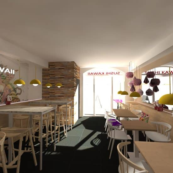 Restaurant Sushi Kawaii à Montpellier